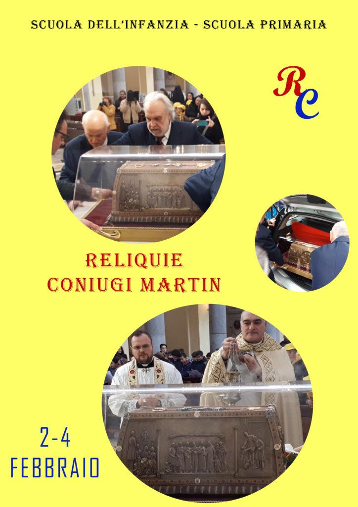 RELIQUIE CONIUGI MARTIN