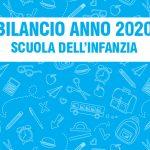 BILANCIO ANNO 2020 – SCUOLA DELL'INFANZIA